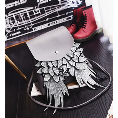 Dark Angel Wings Backpack