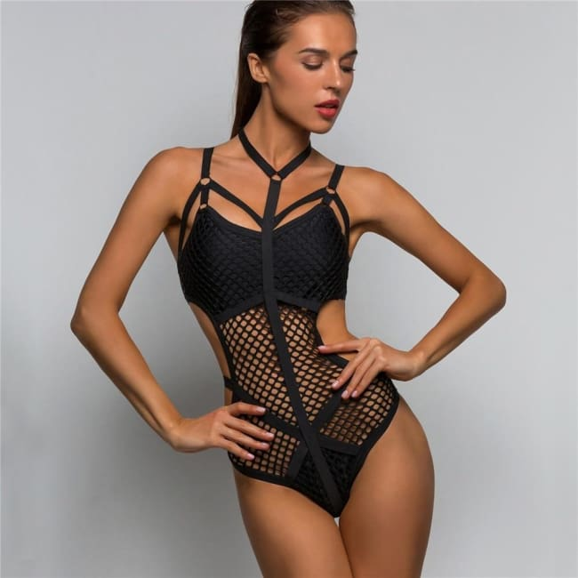 DRACONIA SWIMSUIT BODYSUIT-Bodysuit-Rebellious Creatures