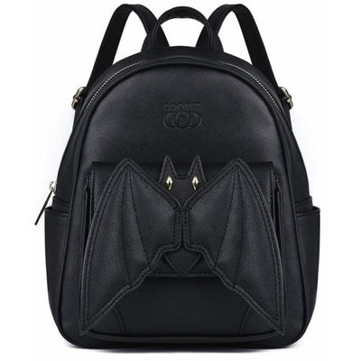 GOTHIC BAT WINGS MINI BACKPACK-Rebellious Creatures