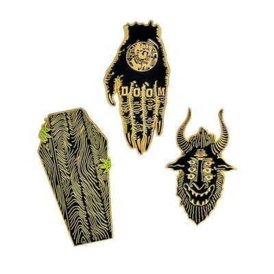 Gothic Brooch Pins Sets - Set