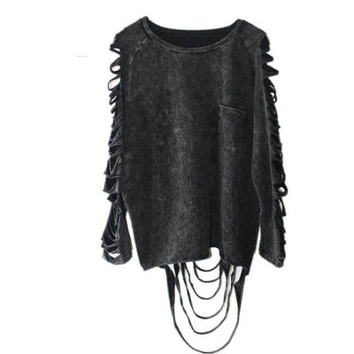 GOTHIC CASUAL STREET STYLE TOP-Rebellious Creatures