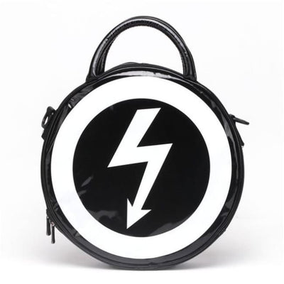 GOTHIC STRUCK BY LIGHTNING HANDBAG-Rebellious Creatures