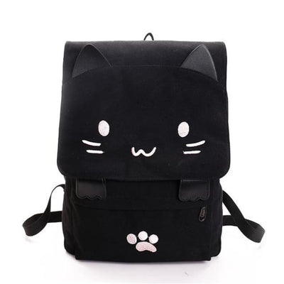 KAWAII CAT CANVAS RUCKSACK-Rebellious Creatures