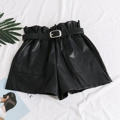 PIA LEATHER SHORTS-Bottoms-Rebellious Creatures