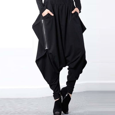 PUNK BAGGY HAREM TROUSERS-Rebellious Creatures
