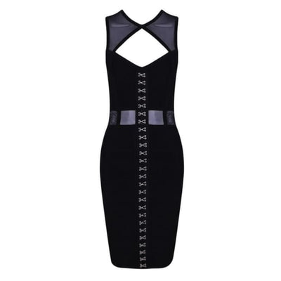 Raynor Criss Cross Front Dress