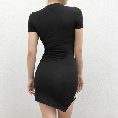 Thalia Bandage Strap Bodycon Dress