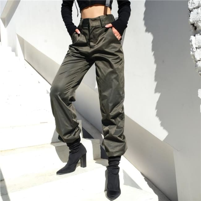 VORTEX HIGH STREET PANTS-Rebellious Creatures