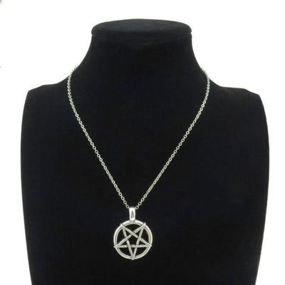 WICCA PENTAGRAM NECKLACE-Rebellious Creatures