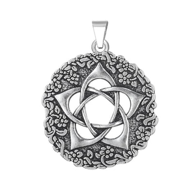 WICCA PENTAGRAM OF THE GODDESS STAR ROSE CHARM-Rebellious Creatures