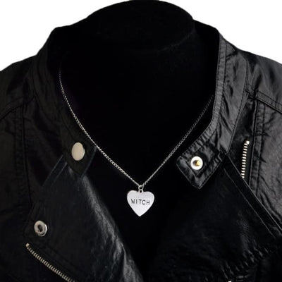 WITCH HEART NECKLACE-Rebellious Creatures