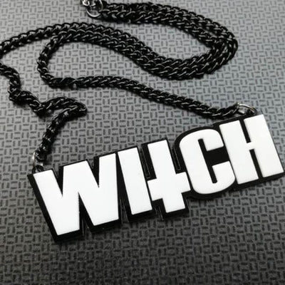 WITCH NECKLACE-Rebellious Creatures