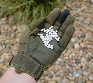 6mm .36g Biodegradable Airsoft BBs (3000 rounds White or Black)