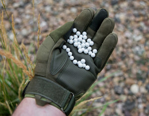 8mm .34g Biodegradable Airsoft BBs (1500 rounds white)