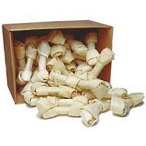 "8""-10"" Rawhide Bones - 16 Pack - Large Bones - Top Dog Chews"