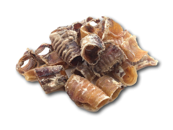 Beef Trachea Chips - 1lb Bag - Top Dog Chews