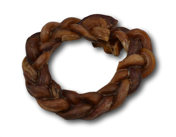 "Bully Stick 5"" Braided Crown - 1 Piece - Top Dog Chews"