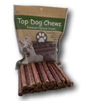 Pheasant Jerky Treat USA - 25 Pack - Top Dog Chews