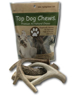 Premium Large Antler Variety Pack Dog Treats, 1-lb bag - Top Dog Chews