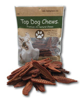 Thick Chicken Tenders 3LBS/48oz Made in the USA - Top Dog Chews