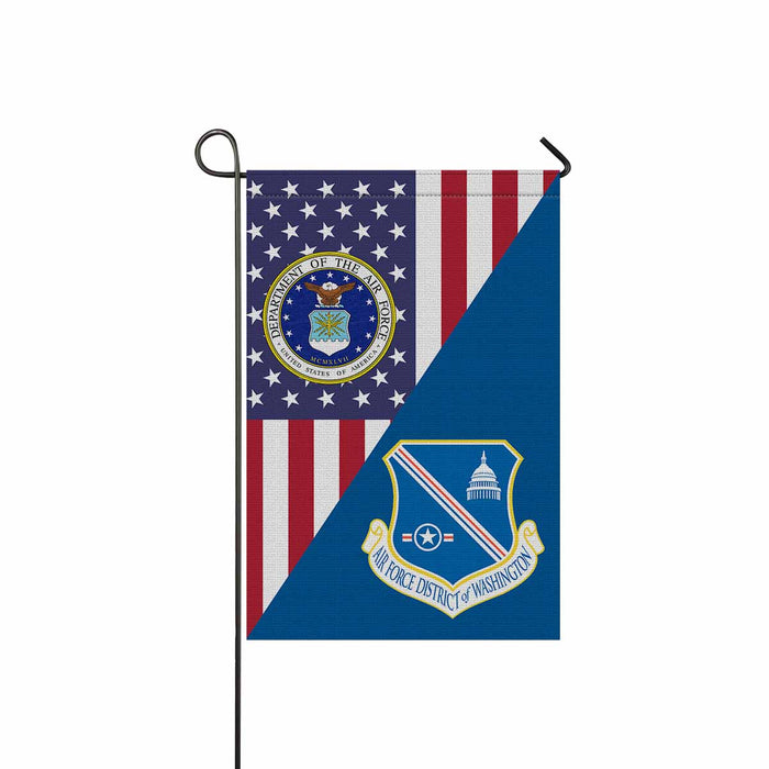 US Air Force District of Washington Garden Flag 12'' x 18'' Twin-Side Printing