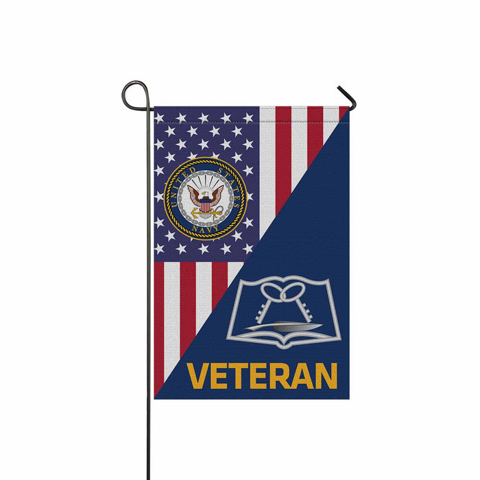 Navy Culinary Specialist Navy CS Veteran Garden Flag 12'' x 18'' Twin-Side Printing