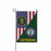 US Army National Guard Veteran Garden Flag 12 Inch x 18 Inch Twin-Side Printing