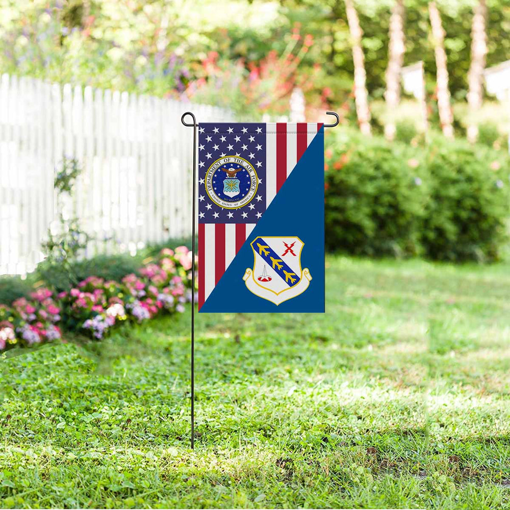 US Air Force 43d Air Division Garden Flag 12'' x 18'' Twin-Side Printing