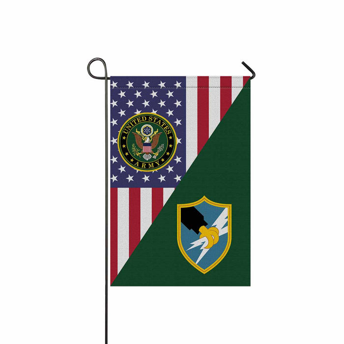 US Army Security Agency Garden Flag 12 Inch x 18 Inch Twin-Side Printing