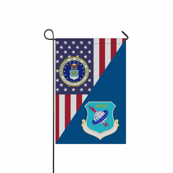 US Air Force 19th Air Division Garden Flag 12'' x 18'' Twin-Side Printing