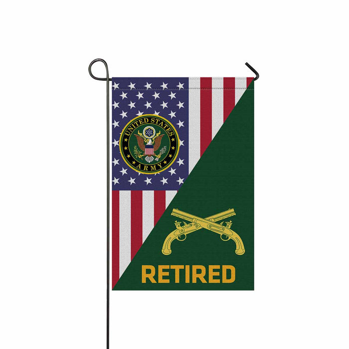 U.S. Army Military Police Corps Retired Garden Flag 12 Inch x 18 Inch Twin-Side Printing