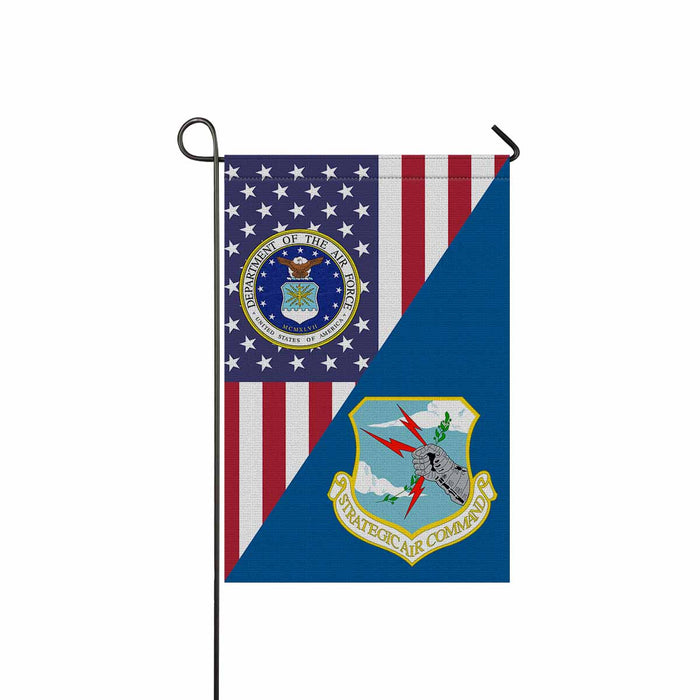 US Air Force Strategic Air Command Garden Flag 12'' x 18'' Twin-Side Printing