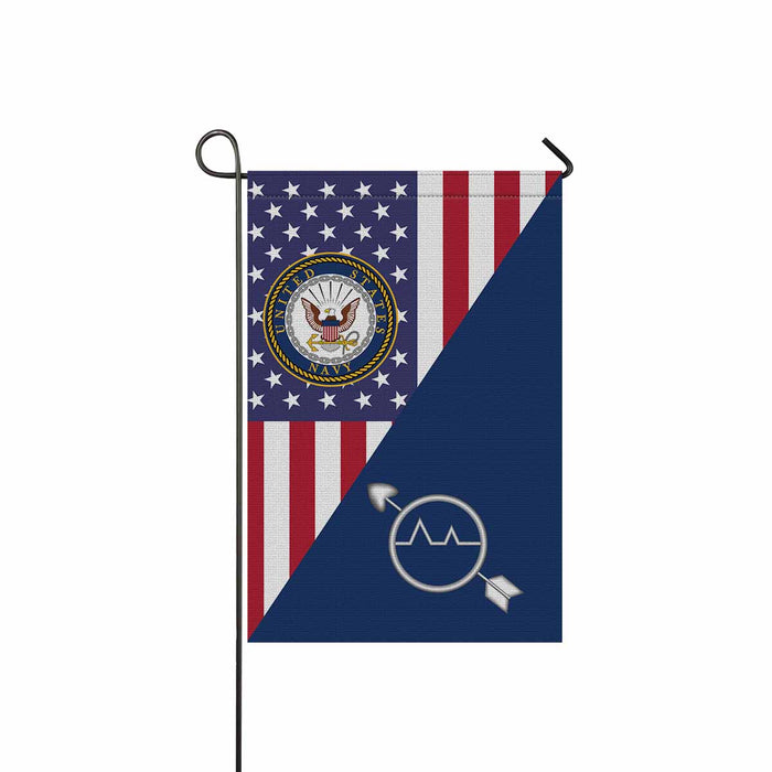 U.S Navy Operations specialist Navy OS Garden Flag 12'' x 18'' Twin-Side Printing