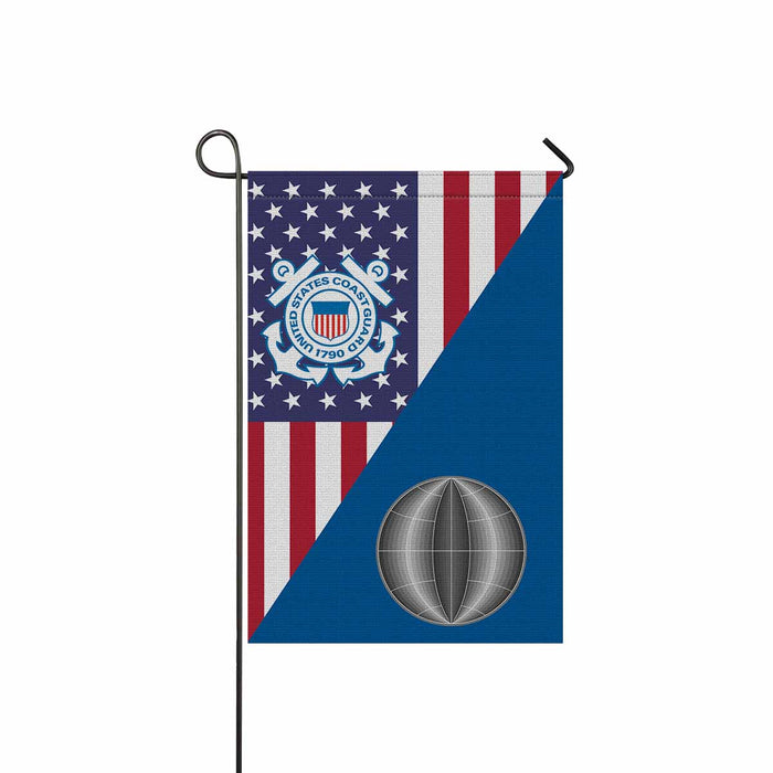 US Coast Guard Electrician's Mate EM  Garden Flag 12'' x 18'' Twin-Side Printing