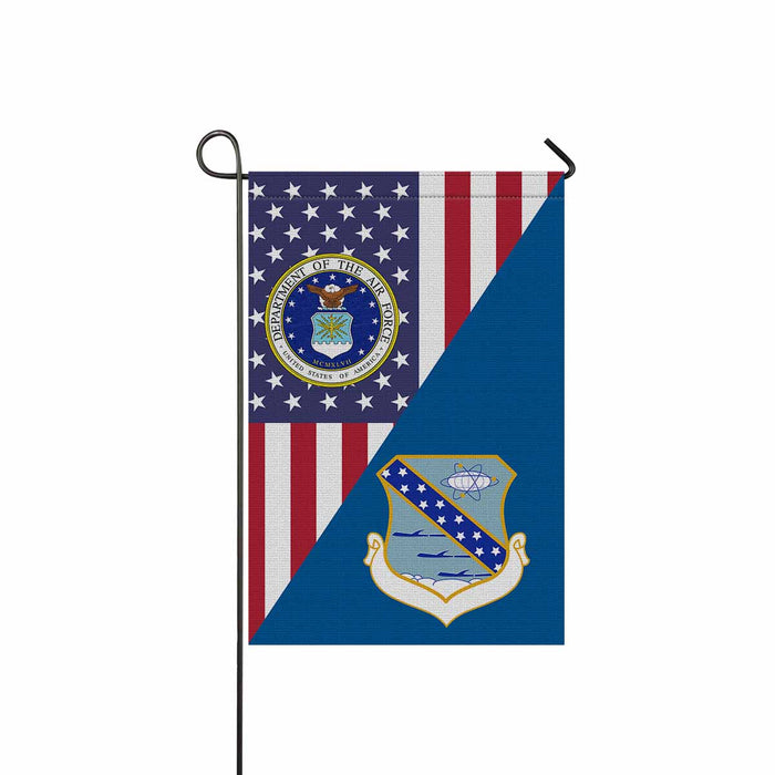 US Air Force 821st Strategic Aerospace Division Garden Flag 12'' x 18'' Twin-Side Printing