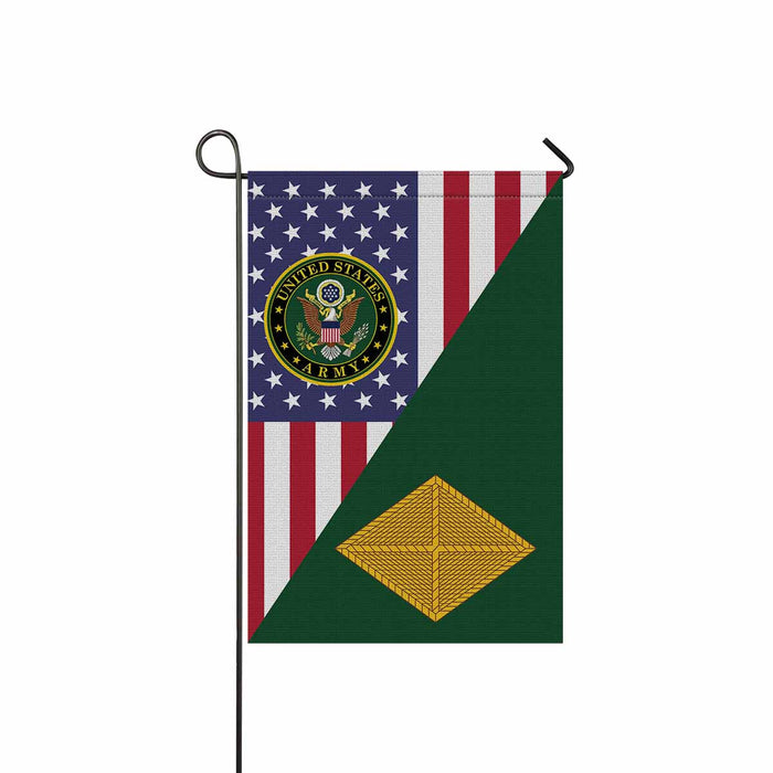 US Army Finance Corps Garden Flag 12 Inch x 18 Inch Twin-Side Printing
