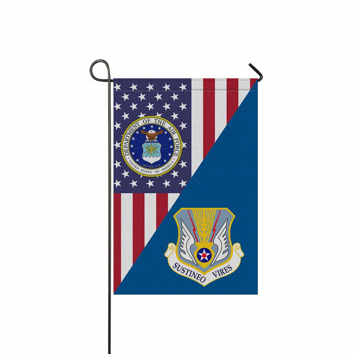 US Air Force 7217th Air Division Garden Flag 12'' x 18'' Twin-Side Printing