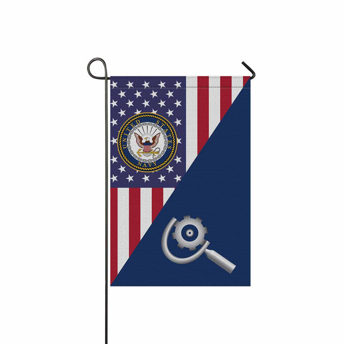 U.S Navy Machinery repairman Navy MR Garden Flag 12'' x 18'' Twin-Side Printing