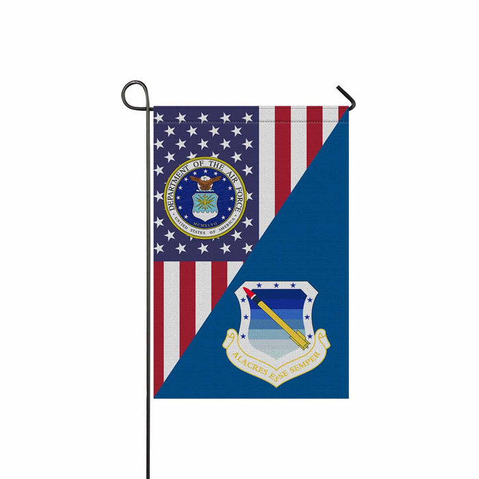 US Air Force 11th Air Division Garden Flag 12'' x 18'' Twin-Side Printing