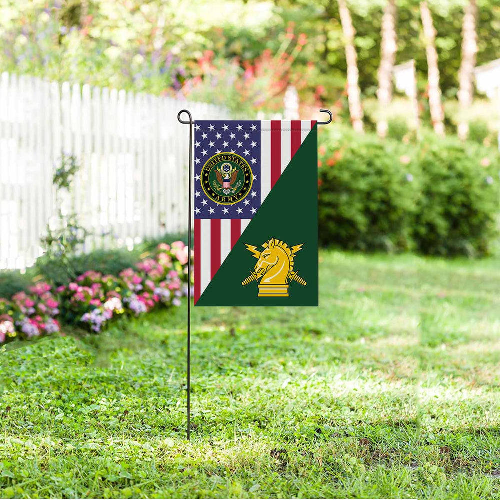 US Army Psychological Ops Garden Flag 12 Inch x 18 Inch Twin-Side Printing