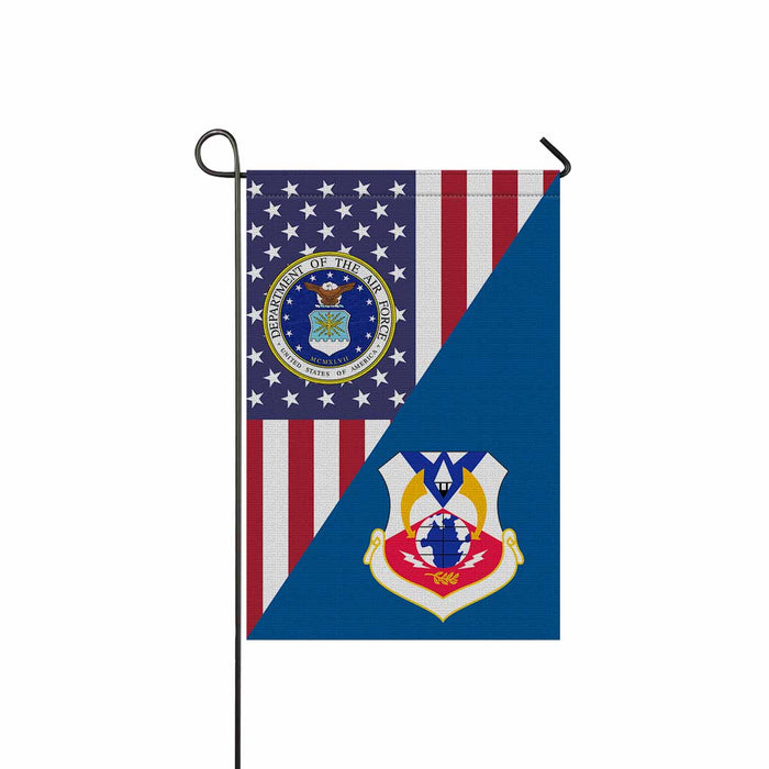 US Air Force 6th Air Division Garden Flag 12'' x 18'' Twin-Side Printing