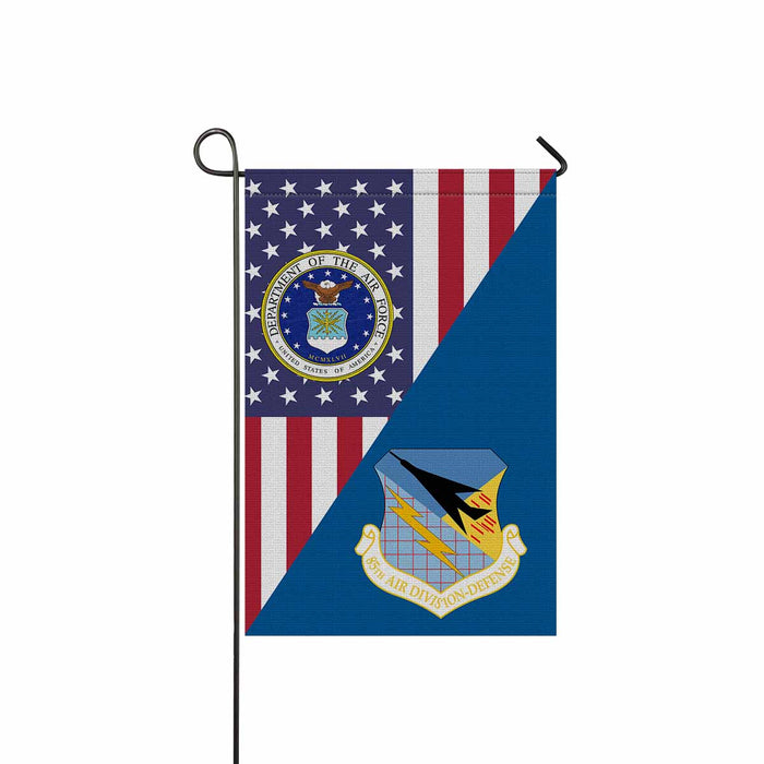 US Air Force 85th Air Division Garden Flag 12'' x 18'' Twin-Side Printing