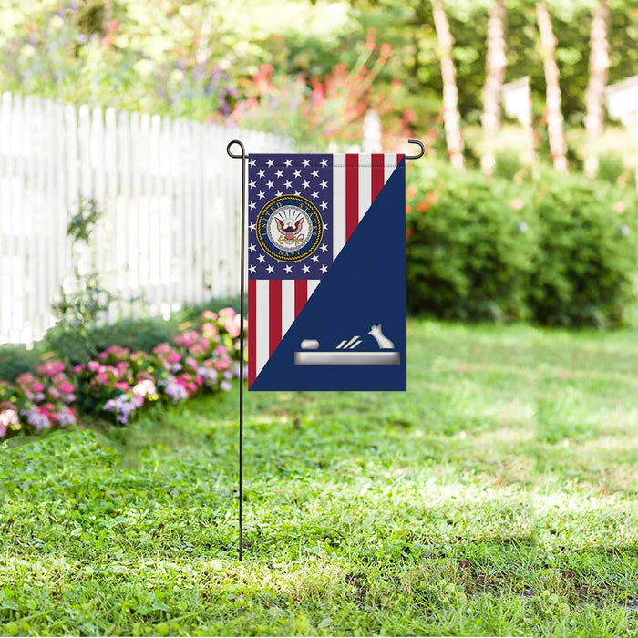 Navy Patternmaker Navy PM Garden Flag 12'' x 18'' Twin-Side Printing