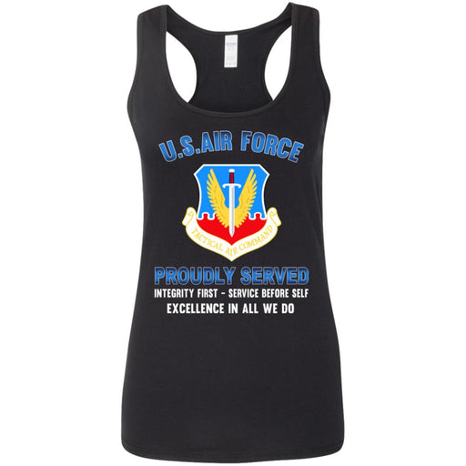 US Air Force Tactical Air Command Proudly Served Ladies' Tank Tops