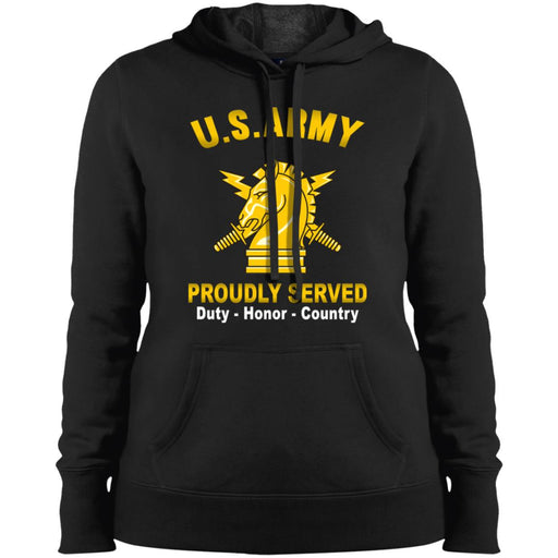 US Army Psychological Ops Proudly Served Sport-Tek Ladies' Pullover Hooded Sweatshirt