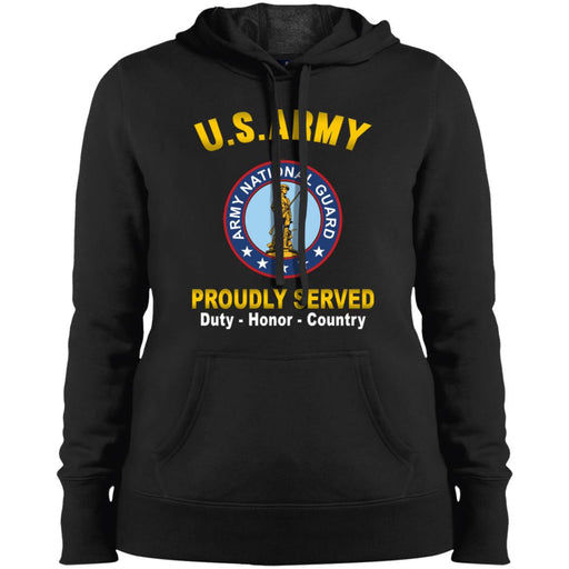 US Army National Guard Proudly Served Sport-Tek Ladies' Pullover Hooded Sweatshirt
