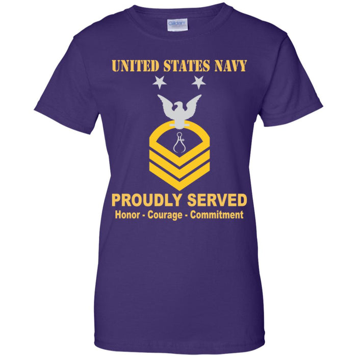 US Navy Instrumentman Navy IM E-9 MCPO Master Chief Petty Officer Ladies' T-Shirt