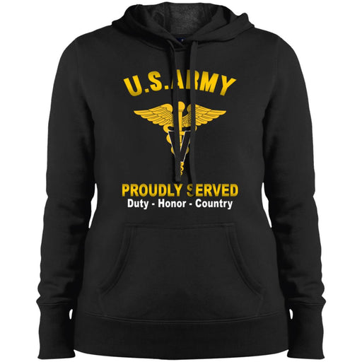 US Army Veterinary Corps Proudly Served Sport-Tek Ladies' Pullover Hooded Sweatshirt