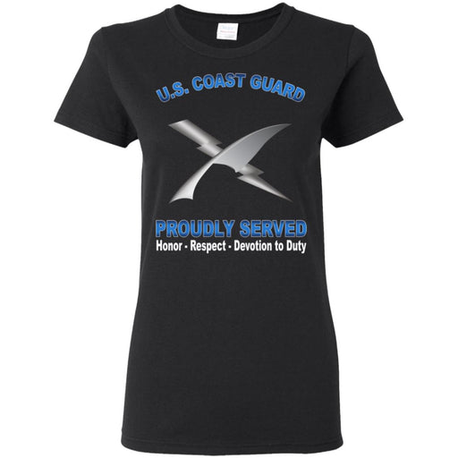 US Coast Guard Intelligence Specialist IS Proudly Served Ladies' T-Shirt
