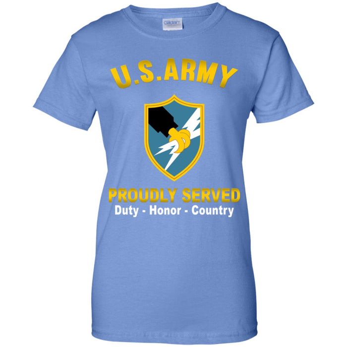 US Army Security Agency Proudly Served Ladies' T-Shirt